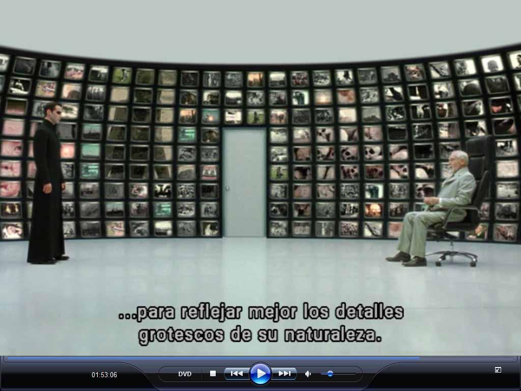 Mira quien est ah trinity 39 s eyes for Matrix reloaded architect