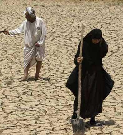 Se seca el Eufrates